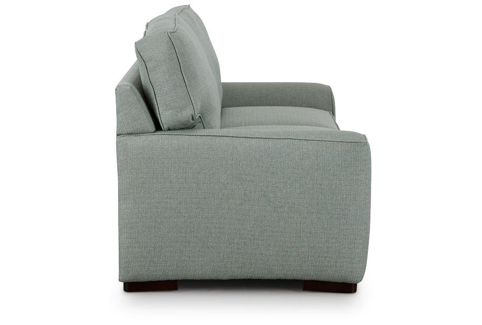 Austin Green Fabric Memory Foam Sleeper