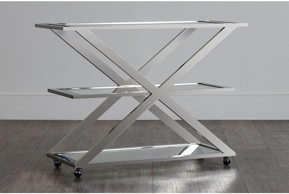 Berlin Metal Bar Cart,  (0)