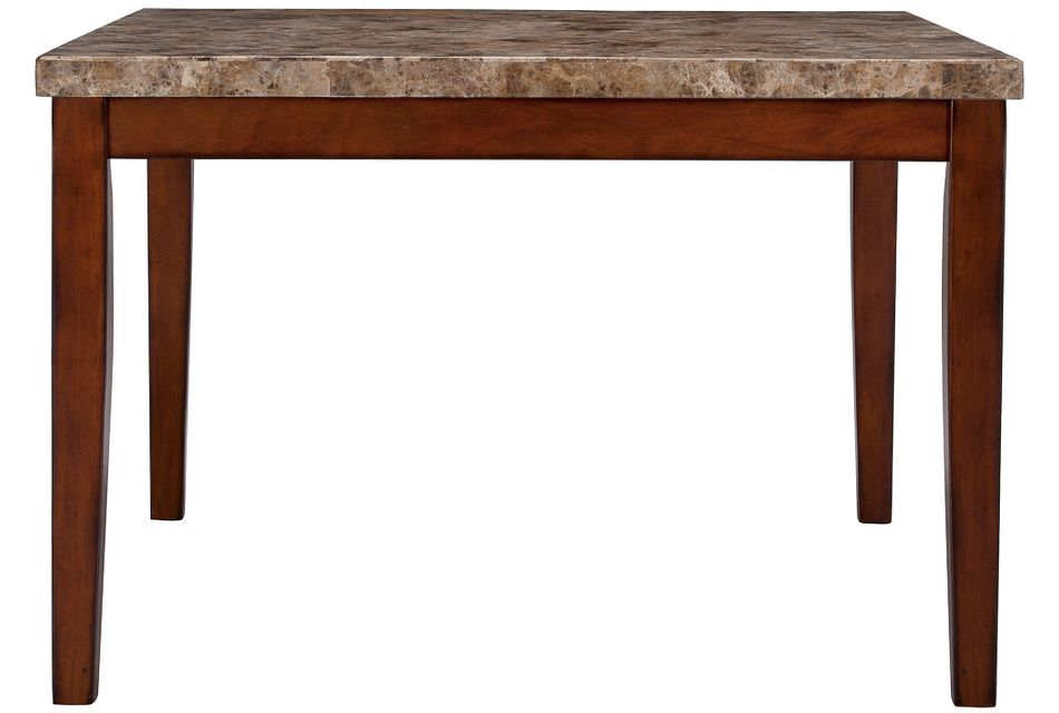 City Lights MARBLE  Square High Dining Table