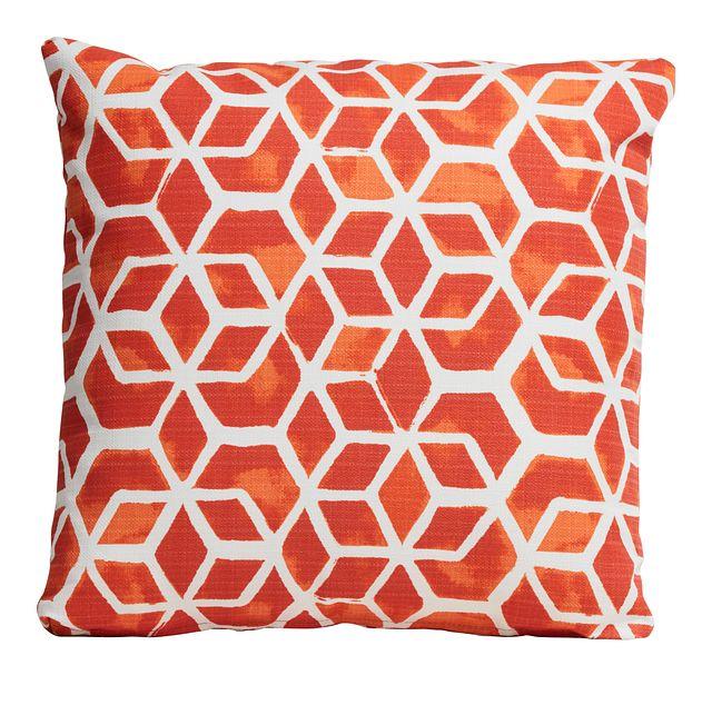 """Celtic Orange 18"""" Indoor/outdoor Accent Pillow (0)"""