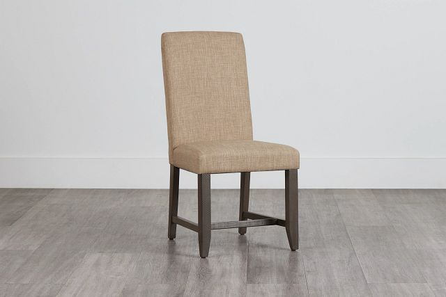 Taryn Light Taupe Upholstered Side Chair (0)