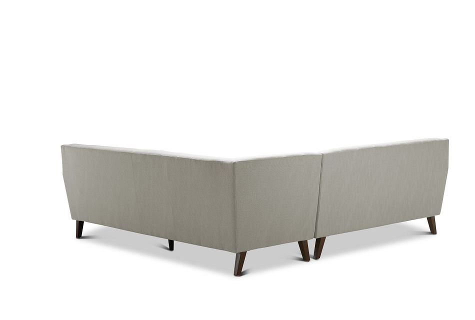 Tahoe Beige Fabric Two-arm Sectional