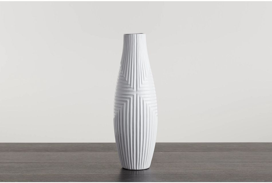 Capes White Large Vase