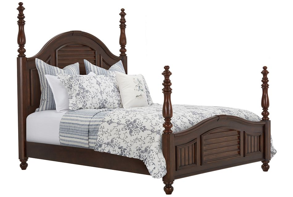Savannah Dark Tone Poster Bed