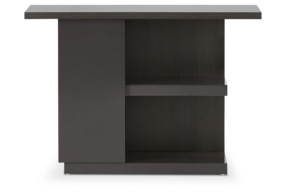 Caelan Dark Tone Sofa Table,  (2)