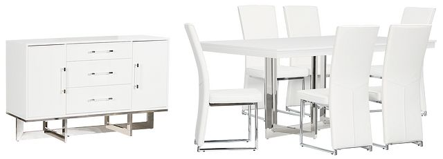 Cortina White Dining Room (1)