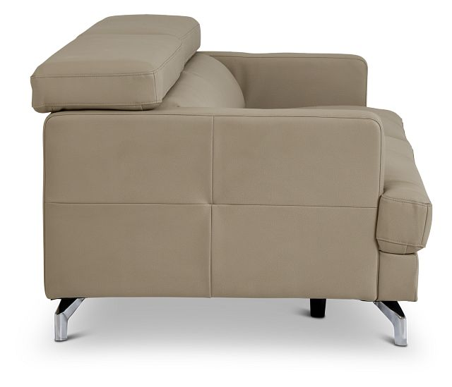 Marquez Taupe Micro Sofa (3)