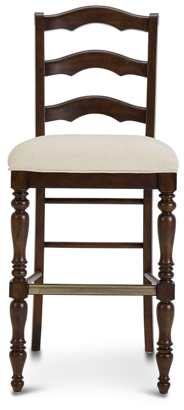 "Savannah Dark Tone 30"" Wood Barstool"