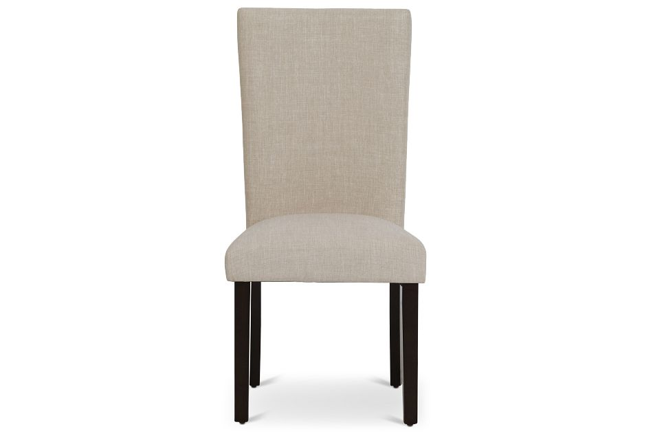 Paloma Beige Upholstered Side Chair,  (3)