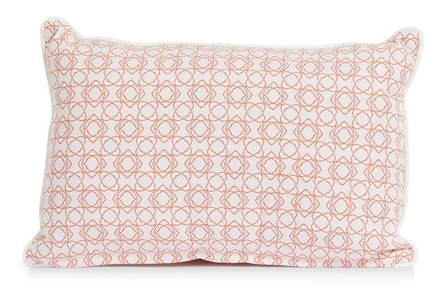 """Valley Orange 13"""" Indoor/outdoor Rectangular Accent Pillow (0)"""