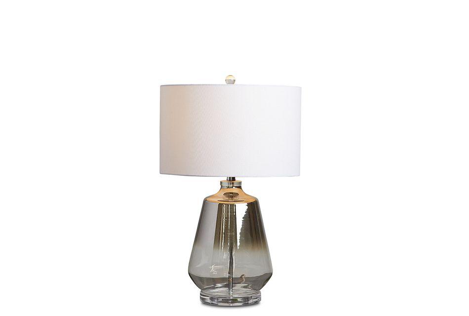Adara Silver  Table Lamp,  (3)