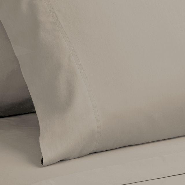 Egyptian Cotton Beige 400 Thread Sheet Set (3)
