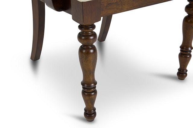 Savannah Dark Tone Wood Arm Chair