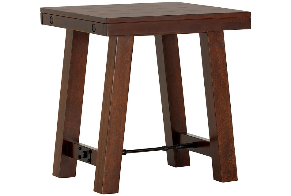 Napa Dark Tone Square End Table