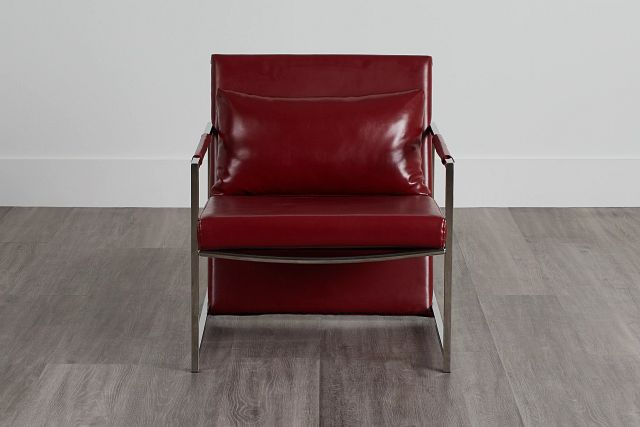 Russell Red Uph Accent Chair (0)