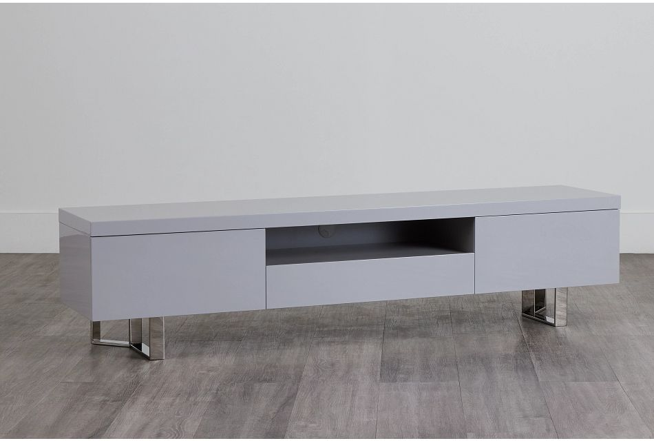 """Axel Gray 78"""" Tv Stand,  (0)"""