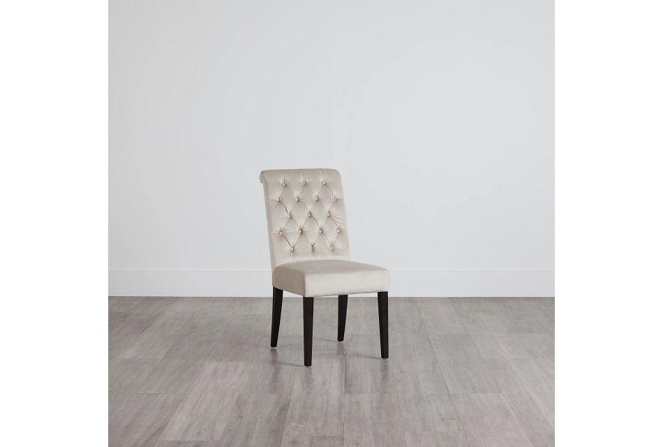 Sloane Light Beige Upholstered Side Chair,  (0)