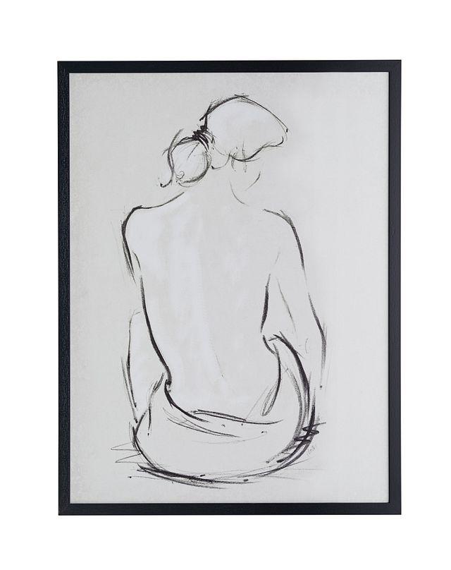 Aubrey Black Framed Wall Art (0)
