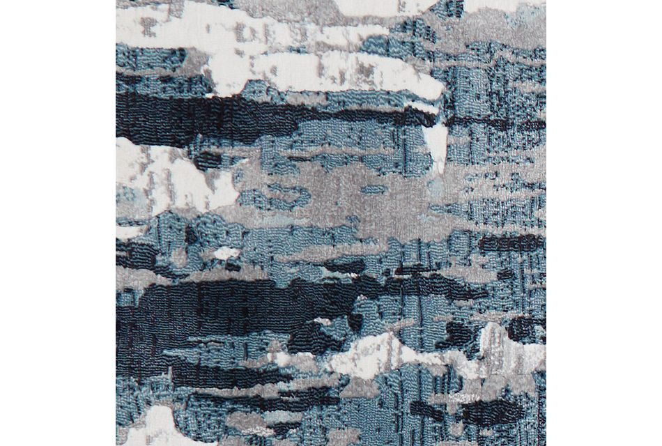 Palma Dark Blue 5x8 Area Rug