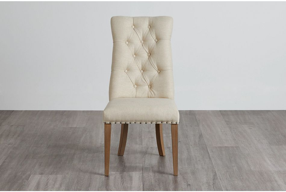 Haddie Light Tone Upholstered Side Chair,  (0)