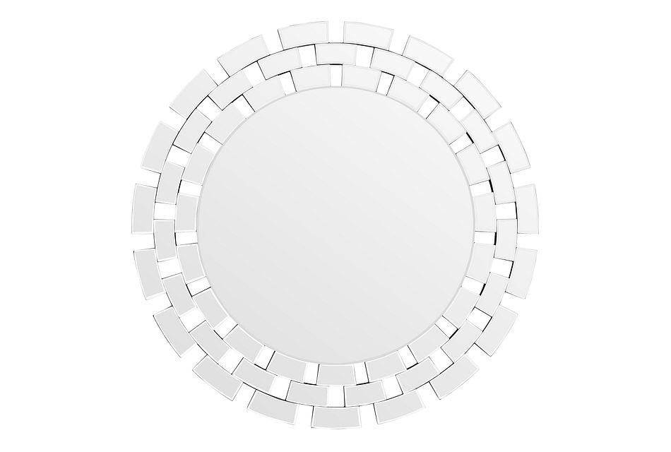 Aya Silver Mirror