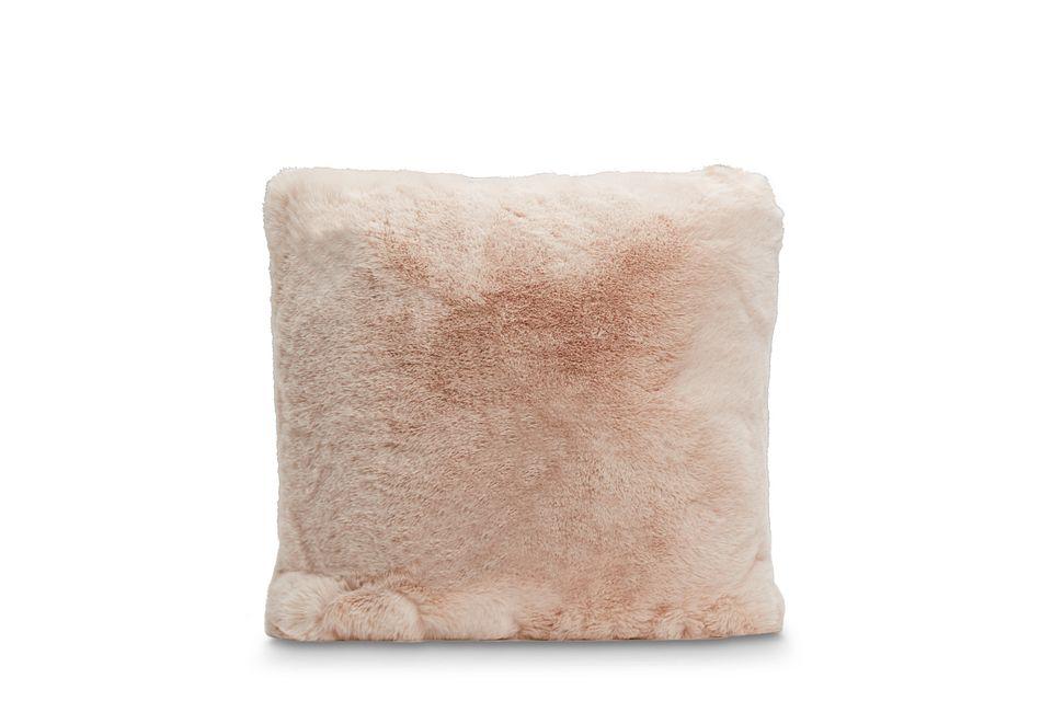 """Kaycee Light Pink  18"""" Accent Pillow,  (0)"""