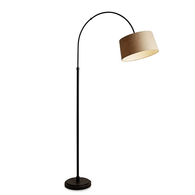 Posy Metal Arc Floor Lamp (2)