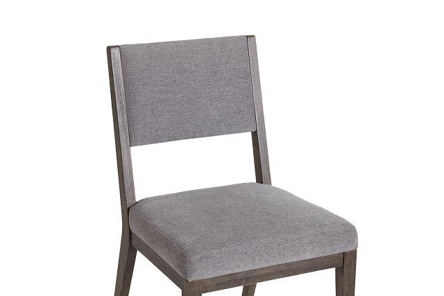 Linea Dark Tone Side Chair
