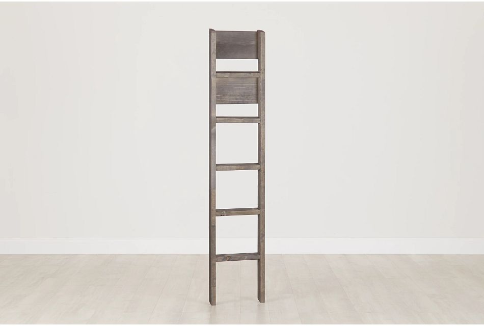 Cinnamon Gray Bunk Ladder