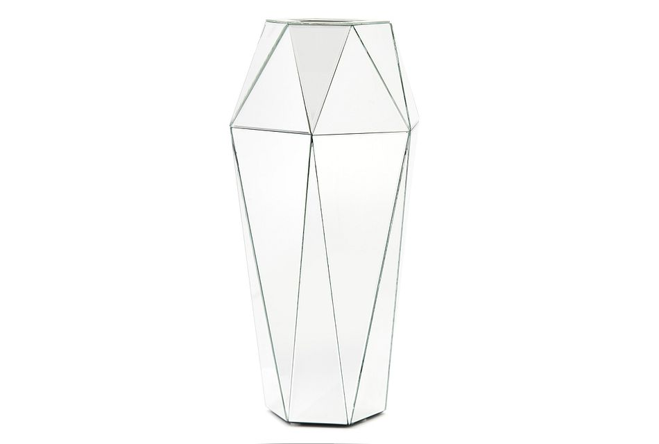 Lectra Silver Small Vase