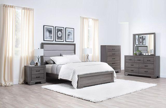 Colson Light Tone Panel Bed (1)