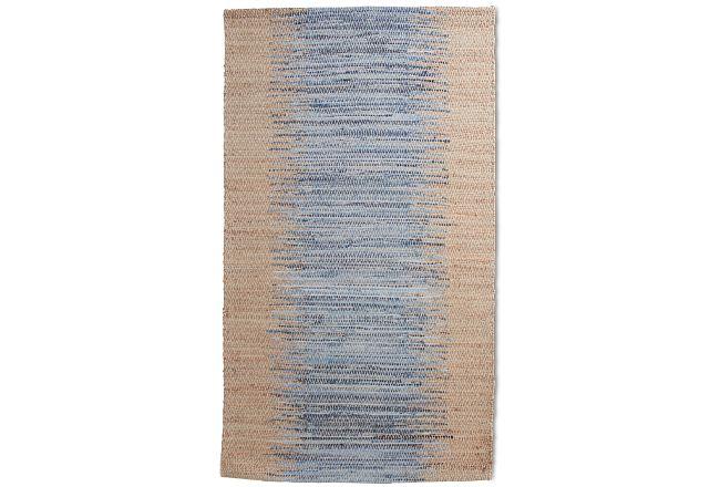 Bagram Blue 5x8 Area Rug