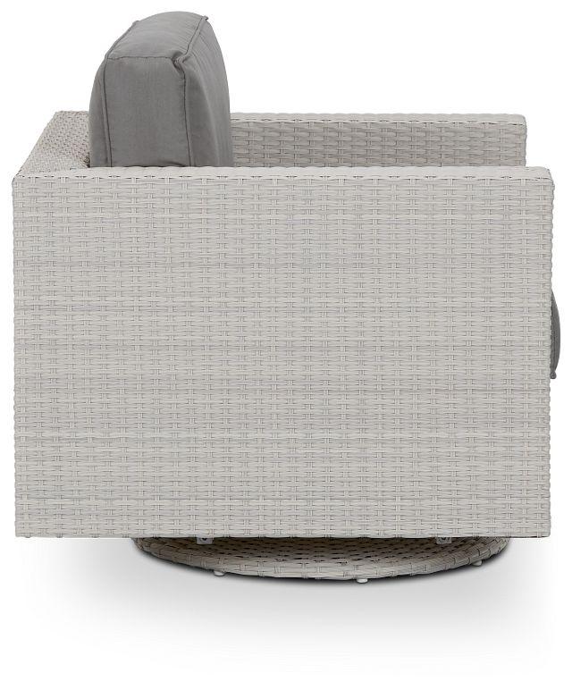 Biscayne Gray Swivel Chair (1)