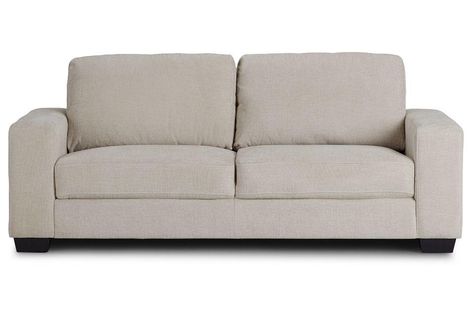 Estelle Beige Fabric Sofa,  (1)