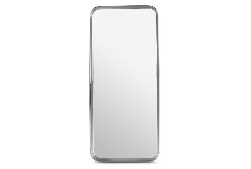Lex Silver Rect Mirror