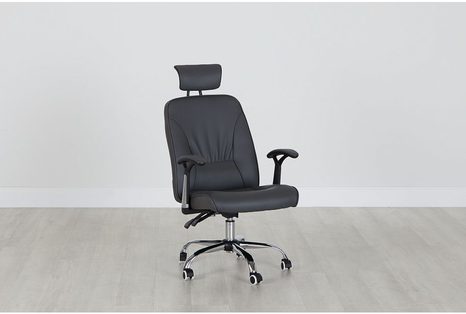 Aurora Gray Uph Desk Chair, %%bed_Size%% (0)
