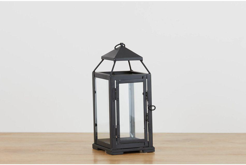 El Paso Black Small Lantern