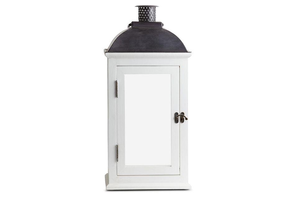 Greensville White Large Lantern,  (1)