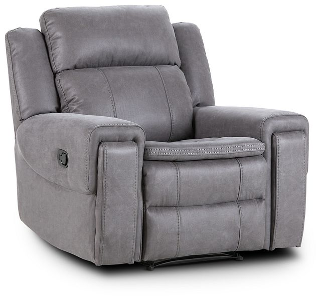 Scout Gray Micro Recliner (1)