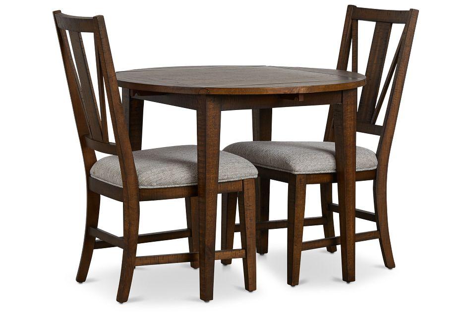 "Heron Cove Mid Tone 38"" Table & 2 Chairs,  (1)"