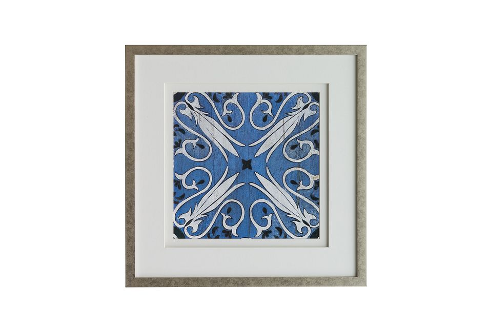 Cadet Dark Blue Framed Wall Art
