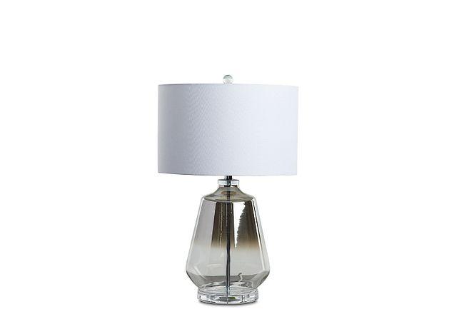 Adara Silver Table Lamp