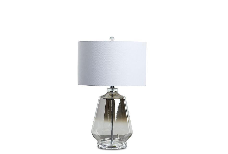 Adara Silver  Table Lamp,  (1)