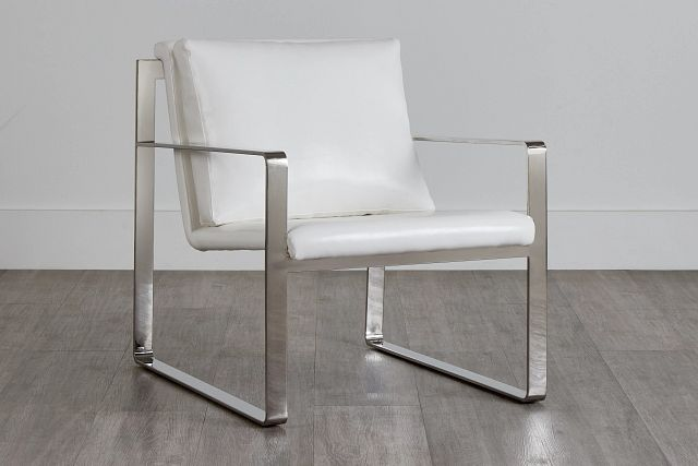 Roslin White Uph Accent Chair (0)
