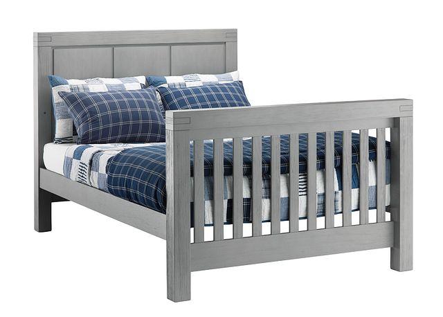 Piermont Gray Panel Bed (1)