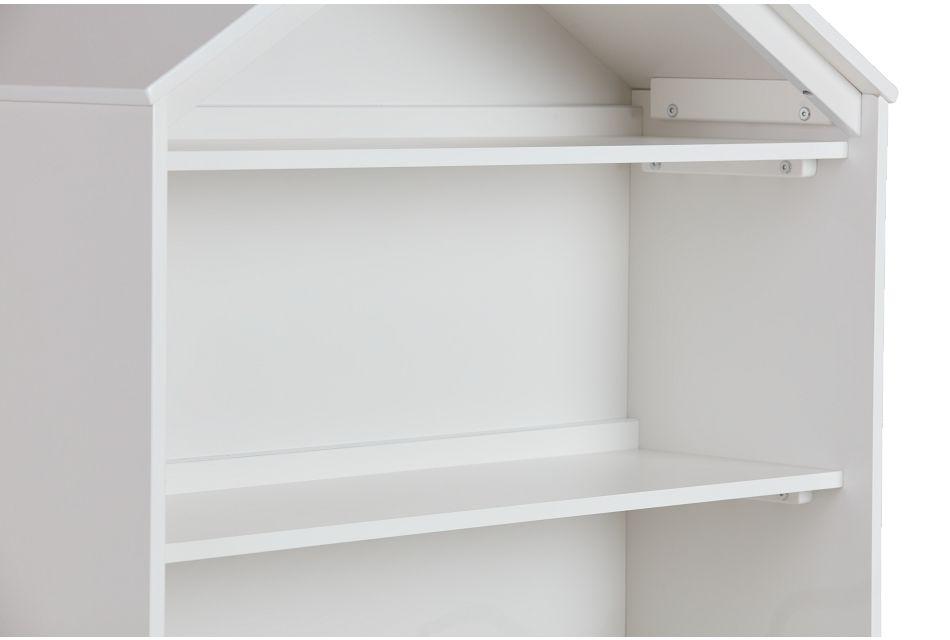 Happy Home White Storage Bookcase