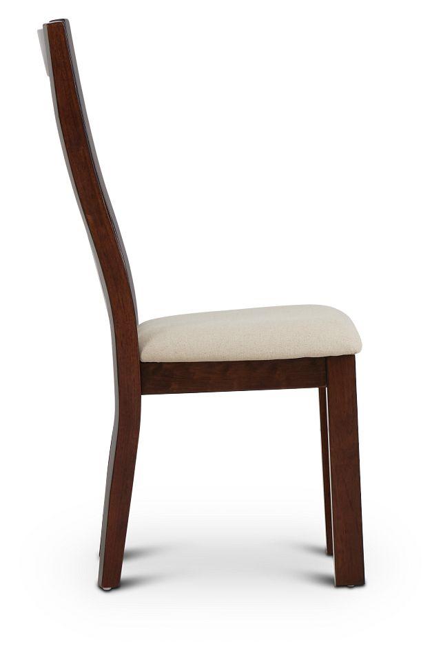 Napa Dark Tone Wood Side Chair (2)