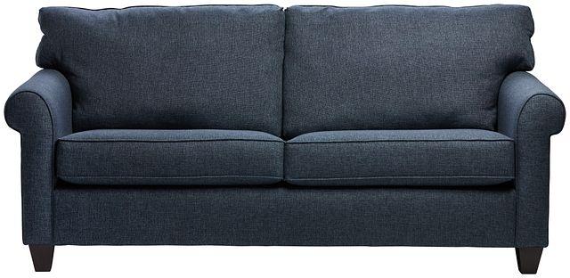 Cameron Blue Fabric Sofa (0)