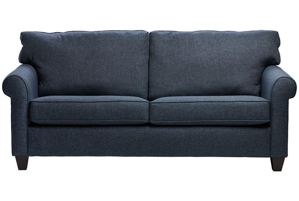 Cameron Blue Fabric Sofa