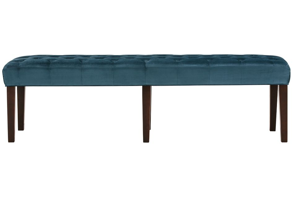 Sloane Dark Blue Dining Bench